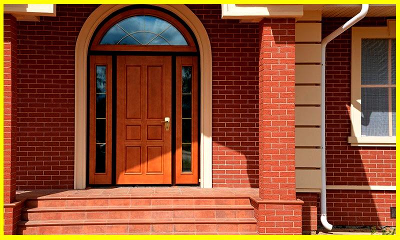материал входной двери в дом